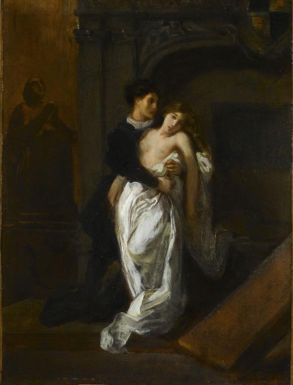 Roméo et Juliette au tombeau des Capulet