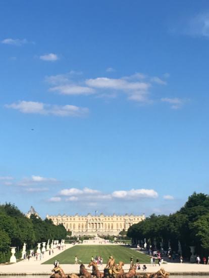 Versailles allée
