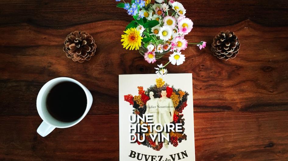 Histoire du Vin café et fleurs