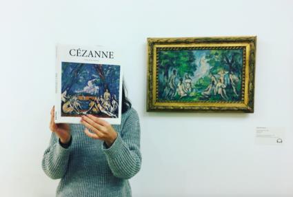Cézanne les baigneuses livre
