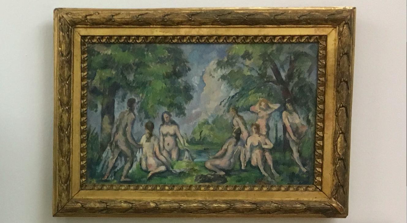 les grandes baigneuses cézanne 1900