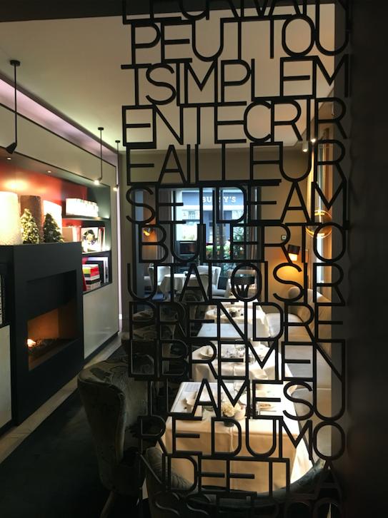 salon pavillon des lettres