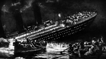 Naufrage du Titanic 1912