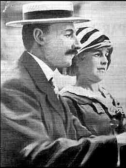John Jacob Astor et son épouse Madeleine, Titanic