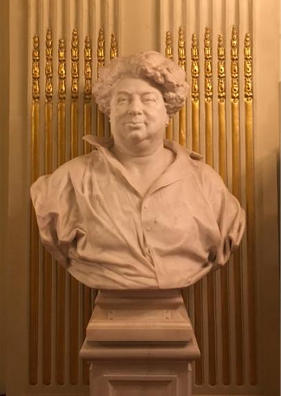 Alexandre Dumas Buste Comédie Française