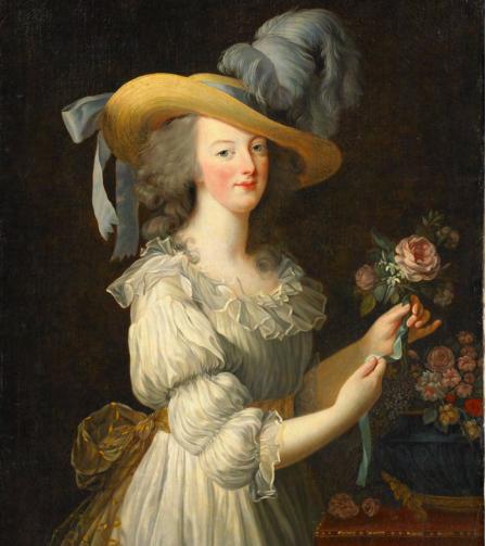 Marie Antoinette en chemise Elizabeth Vigée le brun