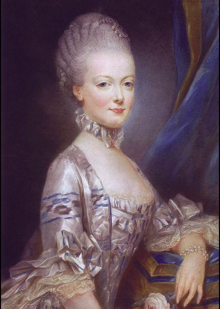peinture Marie-Antoinette 1769 Joseph Ducreux