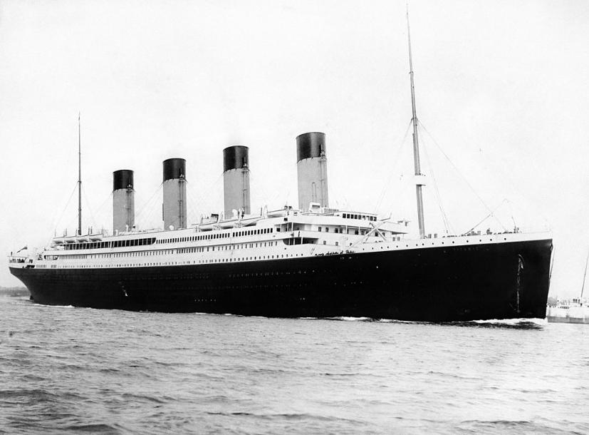 TItanic 10 avril 1912 Southampton