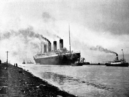 Titanic 2 avril 1912