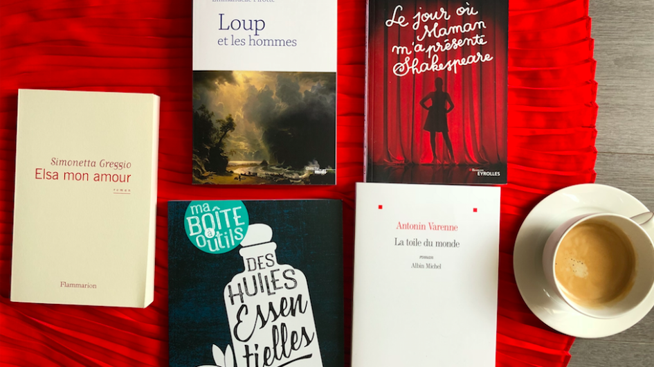 livres rentrées littéraires 2018