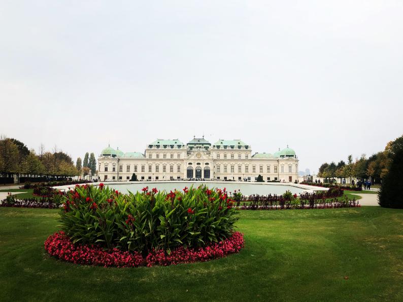 Palais Belvédère Upper vienne