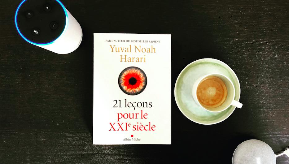 21 leçons pour le XXIe siècle Yuval Noah Harari google amazon