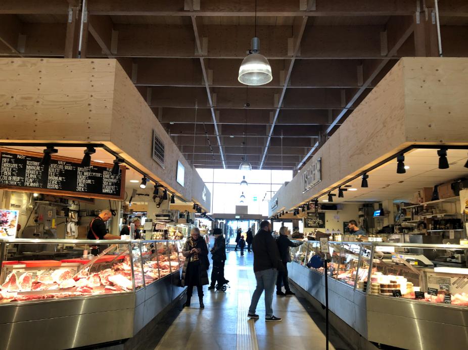 marché couvert intérieur stockholm