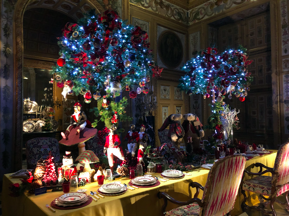 la table de noel vaux le vicomte