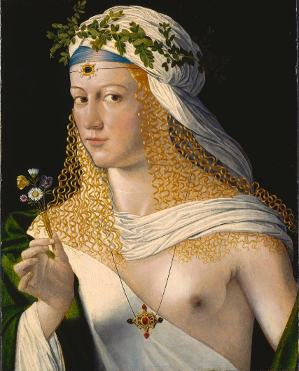 lucrèce borgia de Bartolomeo Veneto