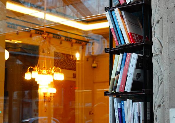 Bibliothèque des Deux Magots