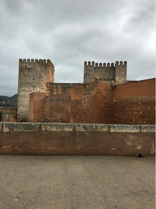 Alcazaba Forteresse Alhambra Grenade