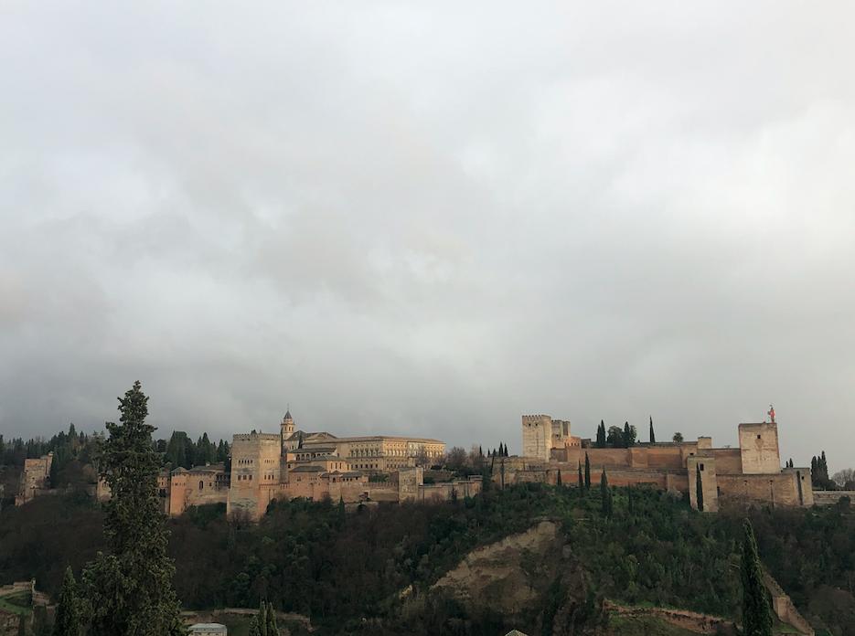 Alhambra Grenade Mirador San Nicolas