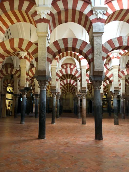 Arcs bicolores Mosquée-Cathédrale Cordoue