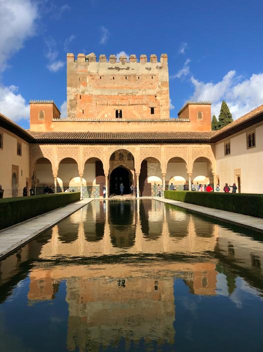 Patio Palais de Comares - Palais Nasrides Alhambra Grenade