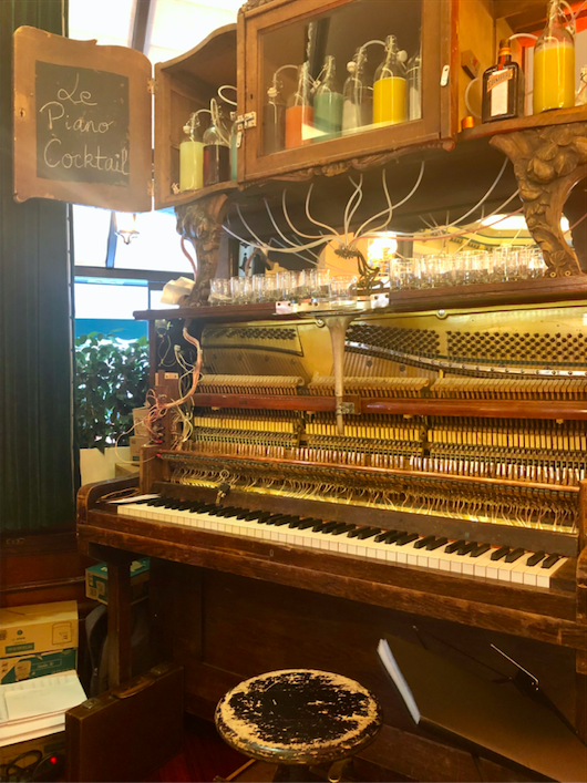 piano cocktail Boris Vian ecume des jours