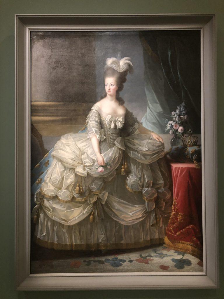 Marie-Antoinette en grand habit d'Elisabeth Vigée Lebrun