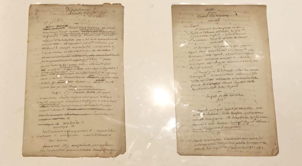 Papiers de Chauveau-Lagarde-défense de Marie-Antoinette