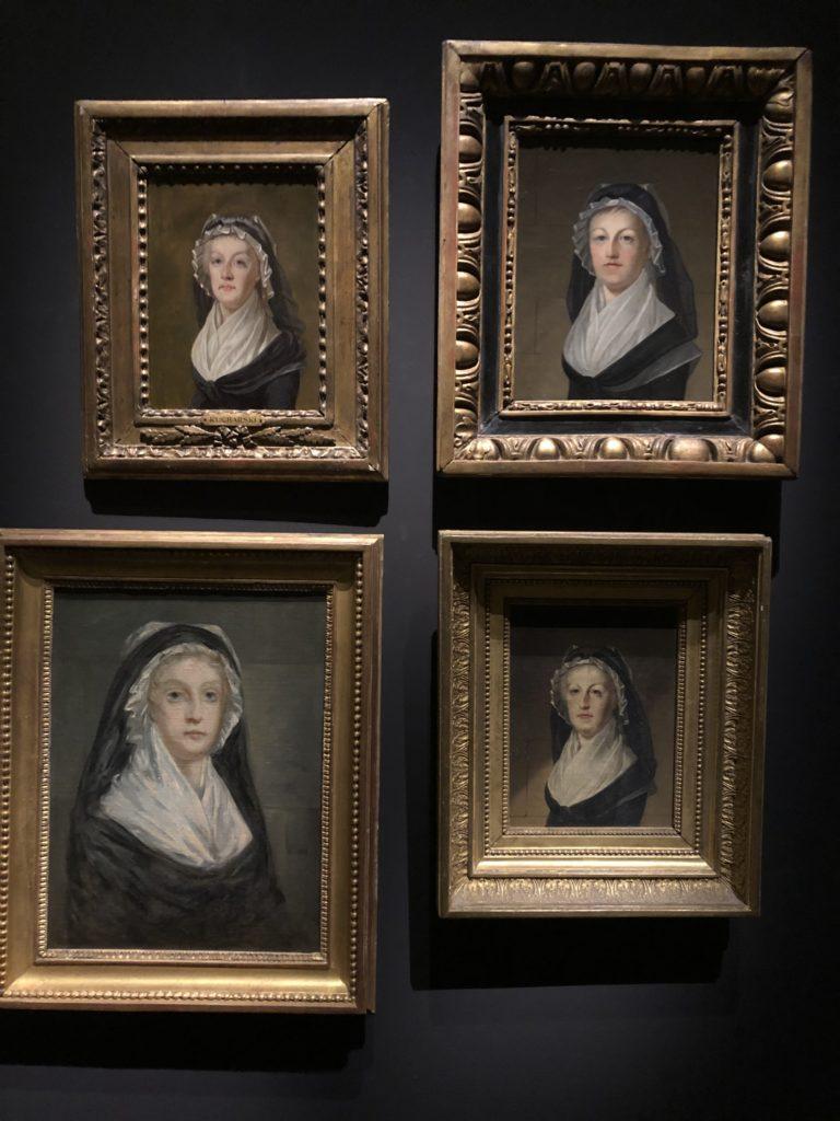 Portraits de Marie-Antoinette au Temple d'Alexandre Kucharski