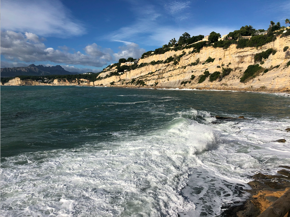 Vue sur la mer