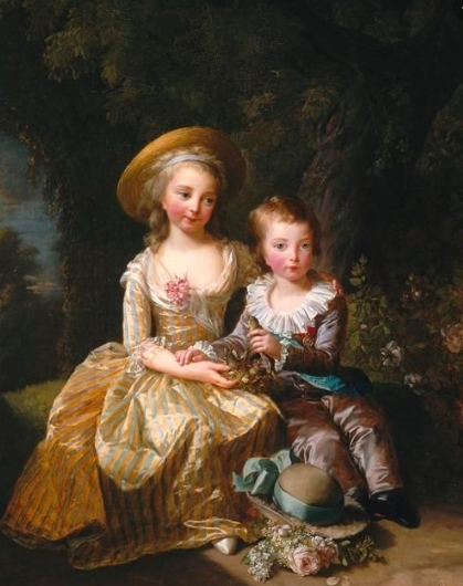 Madame Royale le Dauphin Louis Joseph