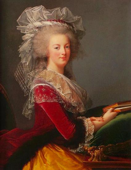 Marie-Antoinette au livre