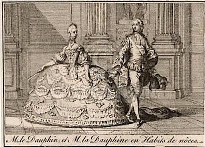 Mariage de Louis XVI et Marie-Antoinette à Versailles - 16 mai 1770