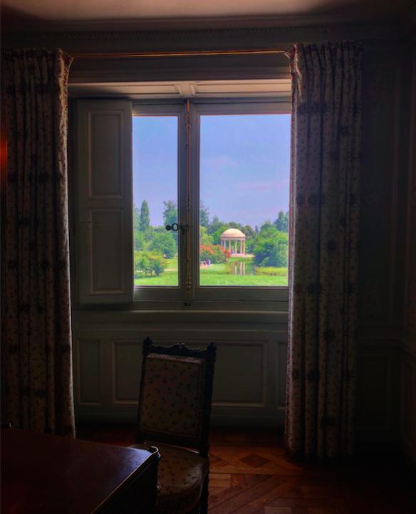 vue temple de l'amour depuis trianon
