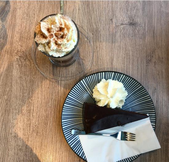 Sacher Torte et chocolat viennois