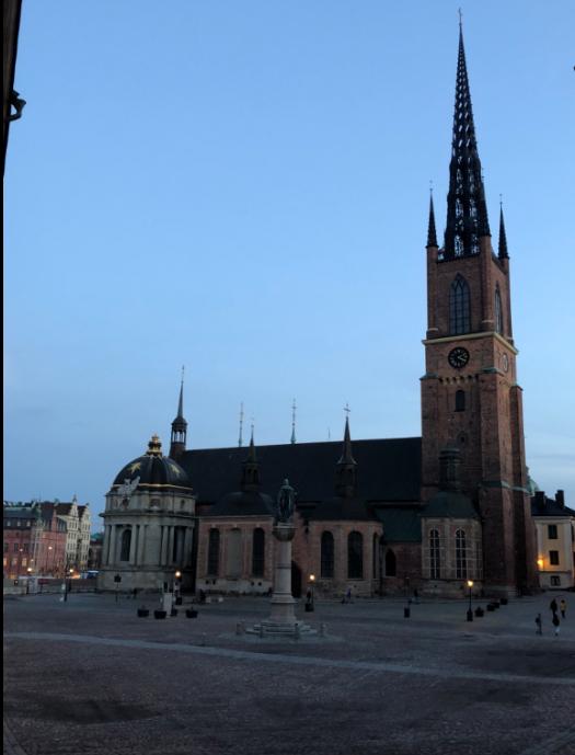 Eglise Riddarholmskyrkan stockholm