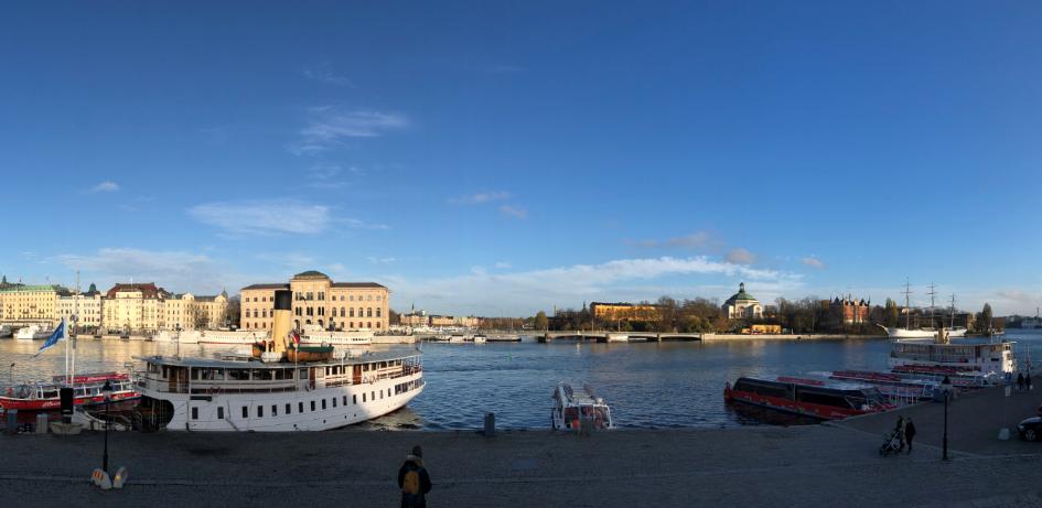 stockholm vue sur la ville