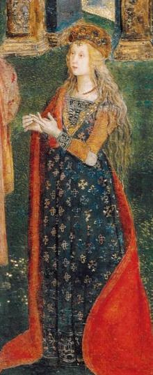 lucrèce borgia de Pinturicchio vatican