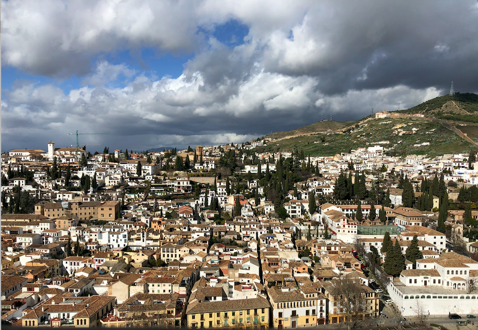 Vue Grenade Alhambra