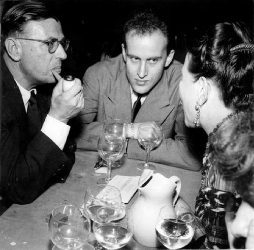 Boris Vian Jean Paul Sartre Simone de Beauvoir
