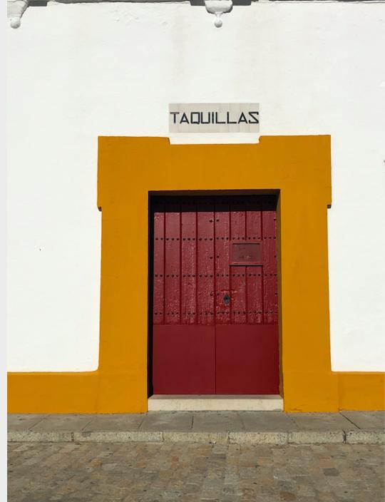 Entrée Place des Taureaux Séville