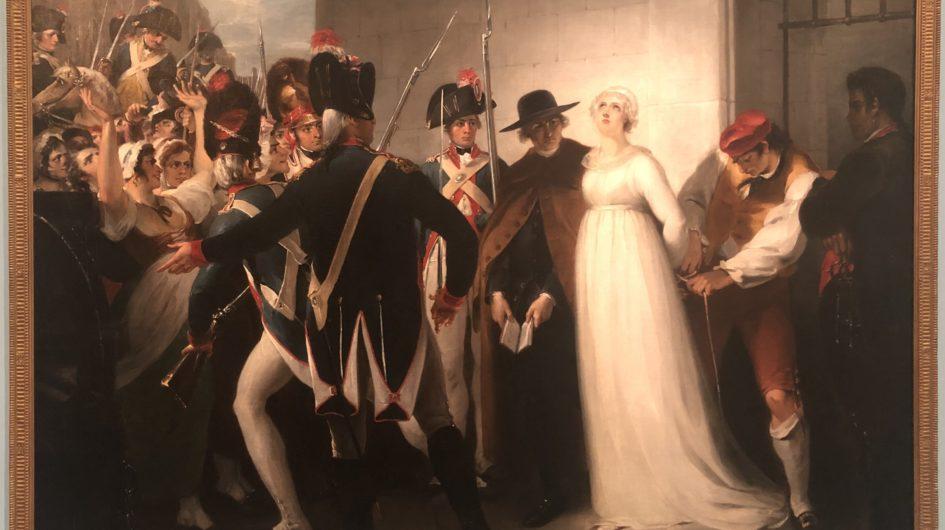 Marie-Antoinette conduite à son exécution, le 16 octobre 1793 de William Hamilton