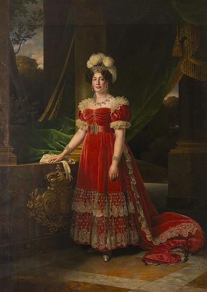 Portrait de Marie Thérèse de France 1827