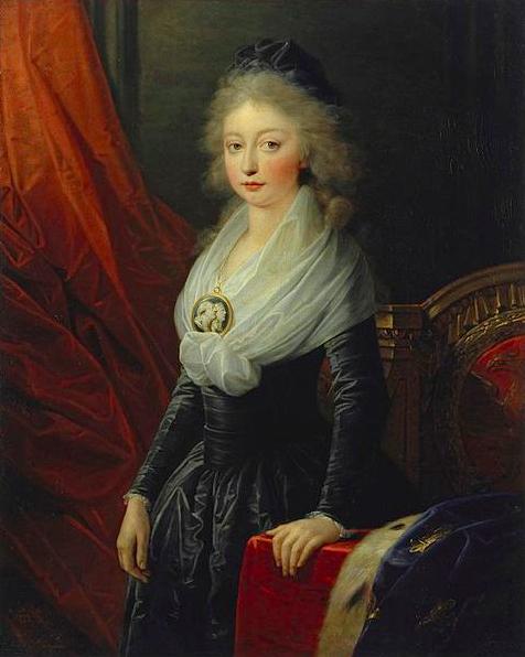 Portrait de Marie Thérèse de France