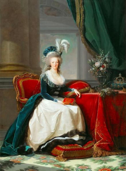 Portrait de Marie-Antoinette par Élisabeth Vigée Le Brun