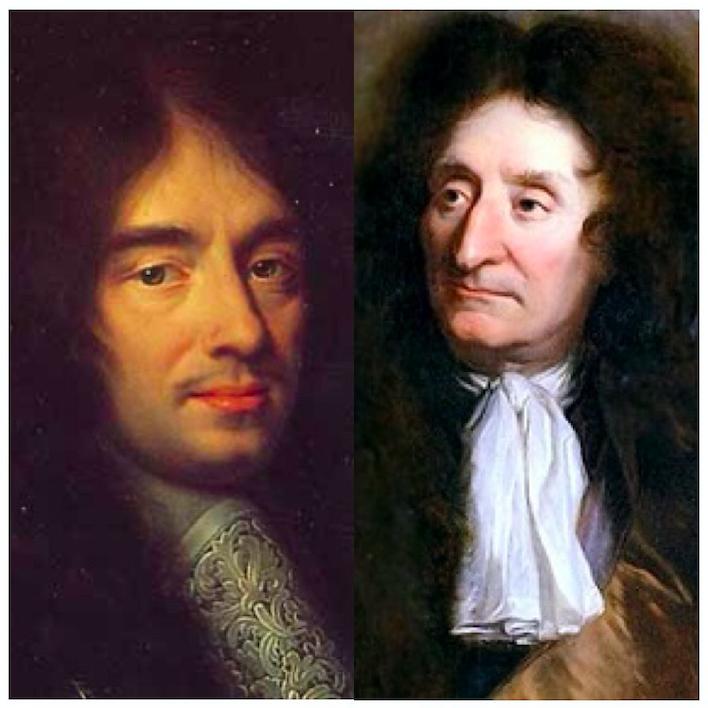 Charles Perrault et La Fontaine