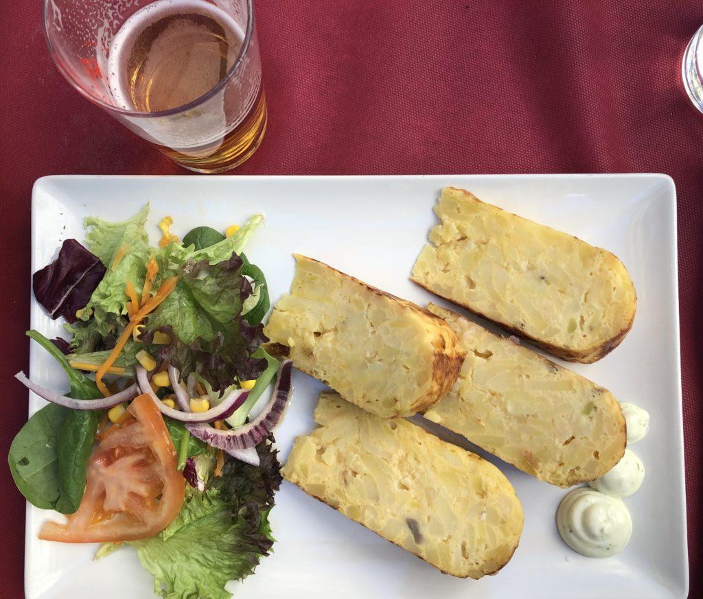 Tortilla-Andalousie