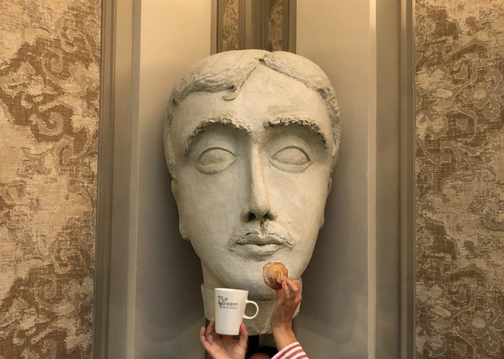 Statue Marcel Proust