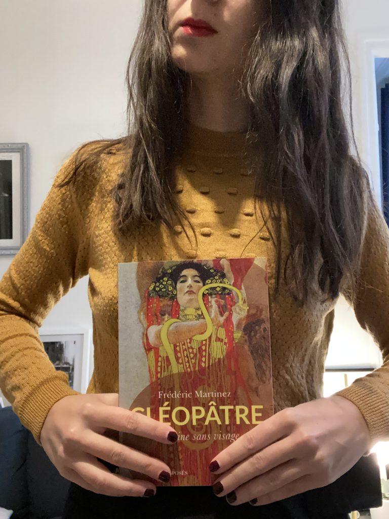 Livre Cléopâtre de Frédéric Martinez